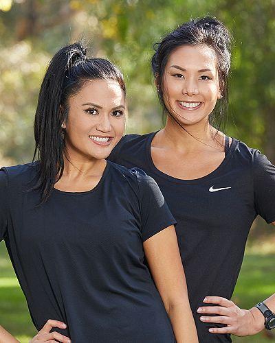 Michelle and Victoria