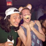 Andy and McCrae on Halloween